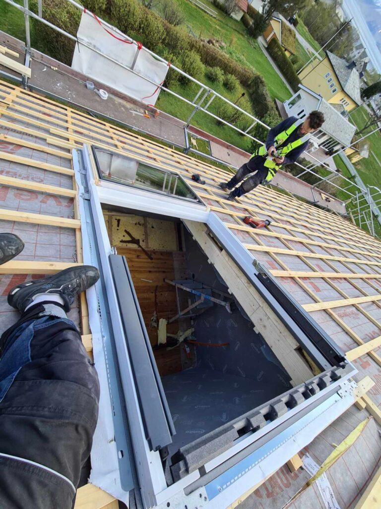 Montering av store takvinduer =)