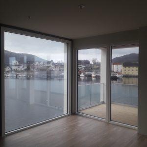 Montering av 140 st vinduer for PEAB, Ulsteinvik, feb-april 2019